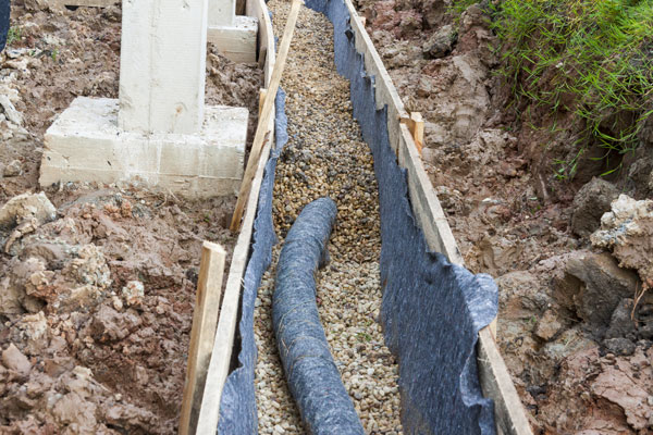 do you need a french drain